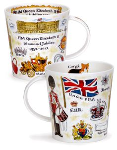 Queen's Diamond Jubilee Mugs