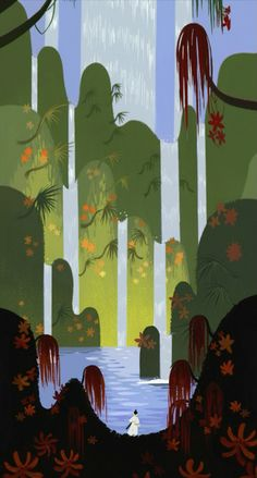 Samurai Jack backgrounds are outstanding!