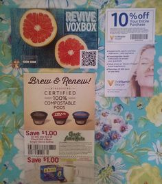Revive VoxBox Coupons!!! Save Money While you shop! #Revive #VoxBox #Influester #VitaminShoppe #Coffee