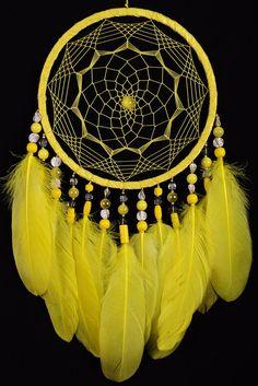 Dreamcatcher Yellow Decor boho Dream Catcher lime Dreamcatcher