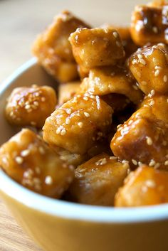 spicy ginger miso tofu; vegan