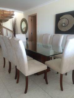 juego de comedor  mesa y 8 sillas   en maldonado