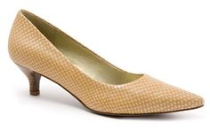 Paulina - Trotters Shoes - TheWalkingCompany.com. Comfortable, low heeled pumps that go with everything? Yes please!