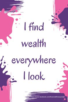 """Daily wealth affirmation, from the 'Wealth Journal - Change Your Money Mindset in 90 days"""" - Manifesting Money, using the Law of Attraction Prosperity Affirmations, Positive Affirmations Quotes, Money Affirmations, Affirmation Quotes, Positive Quotes, Farmasi Cosmetics, Manifesting Money, Law Of Attraction Affirmations, Positive Thoughts"""