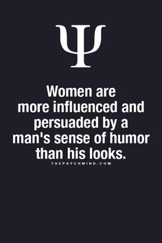 For real! I know a man's sense of humor is what attracts me.