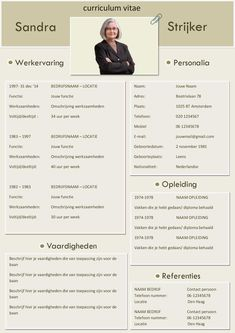 Een CV en motivatiebrief voor jong en oud Cv Template, Resume Templates, Cv Curriculum Vitae, Cv Tips, Cv Format, Cv Design, Find A Job, New Job, Personal Branding