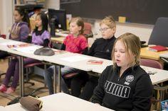 Mindfulness sopii lapsillekin.  Lue hieno artikkeli aiheesta linkin takaa!