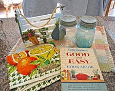 Cool vintage kitchen assortment for sale at More Than McCoy at http://www.morethanmccoy.com