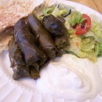 Lebanese Stuffed Grape Leaves Recipe