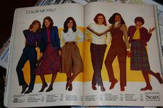 Sears, Seventeen Magazine, September 1982 by Look In The Tunk, via Flickr