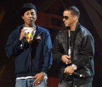Pharrell Williams and Daddy Yankee