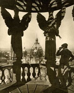 Open cupola atop the western dome of the Stadtschloss Berlin Mitte, Berlin Germany, Berlin Spree, The Second City, A Moment In Time, Dresden, Dom, Old Pictures, Berlin