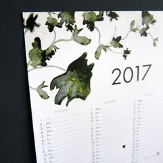 GROSSER SUKKULENTEN-KALENDER 2017 • LARGE SUCCULENTS WALL POSTER CALENDAR 2017Size: 29,7 x 84,1 cmstrong 200g papierThis calendar offers enough space to put all your important dates and b...