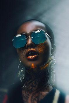 Gds on Behance Digital Art Girl, Digital Portrait, Portrait Art, Black Girl Art, Black Women Art, Black Art, Afro Art, Cyberpunk, Black Cartoon Characters