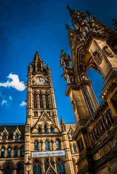 Clock Tower - Manchester