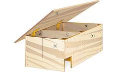 Igelhaus bauen: Schritt 7 von 8