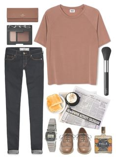 """""""Untitled #156"""" by tamara-xox ❤ liked on Polyvore featuring Abercrombie & Fitch, NARS Cosmetics, American Apparel, Mulberry, Coach, women's clothing, women, female, woman and misses"""