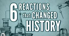 It's Okay To Be Smart host Joe Hanson takes a look at six chemical reactions that changed history. High School Chemistry, Teaching Chemistry, Chemistry Lessons, Science Chemistry, Middle School Science, Physical Science, Teaching History, Earth Science, Science Videos