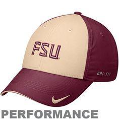 4205ebf079 Nike Florida State Seminoles (FSU) Garnet-Gold Legacy 91 Training  Performance Adjustable Hat