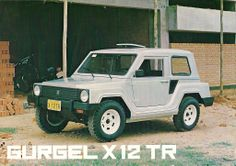 The Bazilian Gurgel X-12 TR, 1986 - the little grandfather of Hummer.