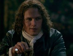 Jamie Fraser (Sam Heughan) in Season Two of Outlander on Starz, Episode 3: Useful Occupations And Deceptions via http://kissthemgoodbye.net/PeriodDrama/thumbnails.php?album=537