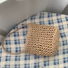 Diy Crochet Bag, Knit Crochet, Net Bag, Macrame Bag, Basket Bag, Knitting For Beginners, Knitted Bags, Lace Knitting, Textile Design