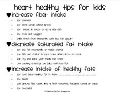 The Educators' Spin On It: Little Hands that Cook with Books: Heart Healthy Foods