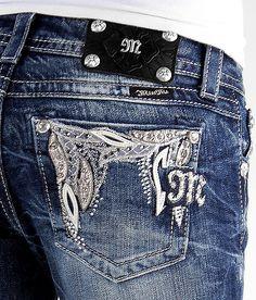 Miss Me Applique Boot Stretch Jean - Women's Jeans | Buckle