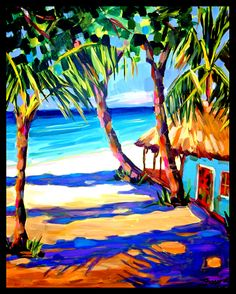 Caribbean Islands - Kathy Frosio Art Studio