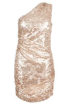 This all over gold sequin ruched dress is the perfect for high-impact glamour. A all over gold dress with ruching ensures this piece shapes a sensational silhouette. This one shoulder dress shows off a sophisticated sexy look perfect for glamorous events and special occasions. $129.99