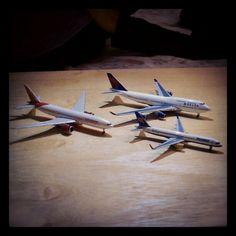 #AirIndia #Delta #IcelandAir #747 #757 #77L - @hireenr- #webstagram