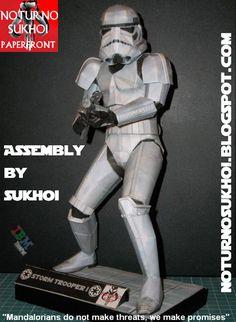 Papercraft - Star Wars Stormtrooper | Papercraft4u | Free Papercrafts, Paper Toys, Paper Models, Gratis