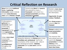 A personal reflection of the activity on Reflective Practice, This reflection justifies the techniques used and uses Gibbs' model for Reflection.