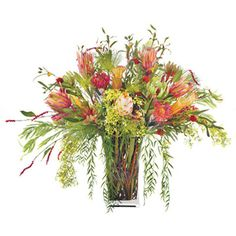 Oversized 37 Inch Silk Flower Arrangement ($987) ❤ liked on Polyvore