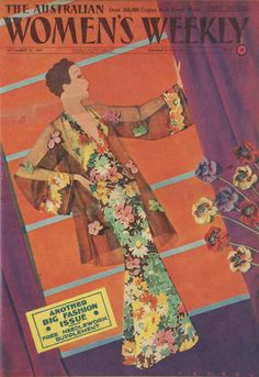 Australian Women's Weekly: Fabric cover by Petrov September 25, 1937
