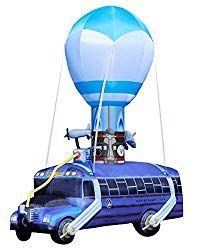 Fortnite Inflatable Battle Bus Fortnite Fortnitehalloween Fortnitehalloweencostumes Fortnitecostum Giant Inflatable Spirit Halloween Halloween Inflatables