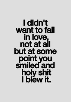 I don't fall or believe in love. I did once and that's when I told myself I was never gunna fall or believe in love ever again because they lied to me and broke my heart. But ever since I met you iv been falling for you... Hard!