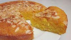 Bizcocho Jugoso de Naranja -INGREDIENTES- · 125 g de azúcar · 90 g de harina · 2 huevos · 45 ml de aceite de girasol · 1 cucharadita de levadura · Media nara...