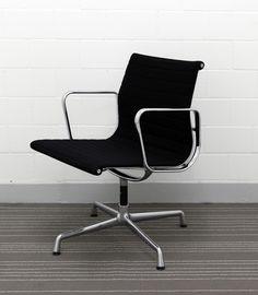 Eames Aluminium Chair EA 108 drehbar Alexander Girard, Eero Saarinen, Eames, Aluminium, Chair, Furniture, Vintage, Home Decor, Armchair