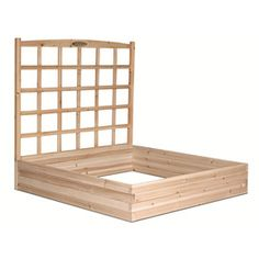 Suncast Raised Bed with Trellis...thinking about this.