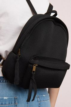 Festival essential Mesh Mini Backpack