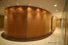 Completely Enclosed Conference   Hall    great for a private discussion.