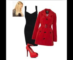 Red coat pretty little liars Halloween costume. (Last minute ...