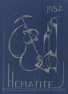 The cover of the 1952  Hematite Yearbook