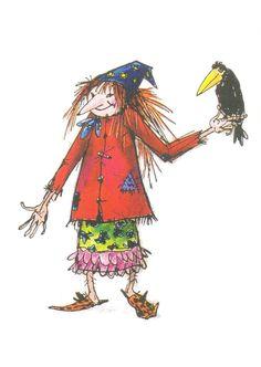 'Die kleine Hexe' (Otfried Preußler) by Winnie Gebhardt