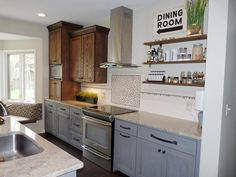 Custom-Built by Mom after image from the this old house reader remodel Best Kitchen Before and Afters 2014 winning entry