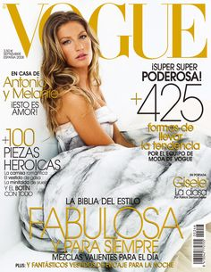 Gisele para Vogue Espanha - Setembro 2008