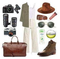 """Safari"" by gabriela-ignatova on Polyvore featuring Burt's Bees, Rachel Comey, Splendid, MANGO, Will Leather Goods, OTBT, DKNY, Brixton, Nikon and Lotuff Leather"