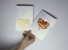 Ystävänpäiväkortit / Aallokossa http://www.stoori.fi/aallokossa/origamisydamia-ystavalle/