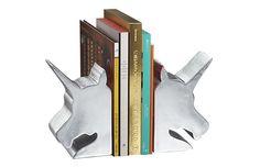 Aparador de livros Unicorn Bookend;